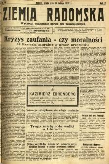 Ziemia Radomska, 1932, R. 5, nr 44