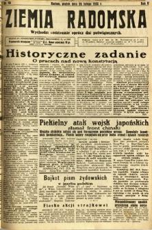 Ziemia Radomska, 1932, R. 5, nr 46