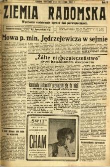 Ziemia Radomska, 1932, R. 5, nr 48
