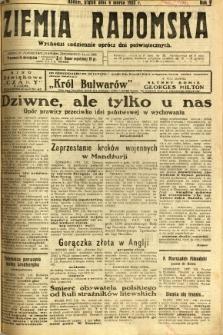 Ziemia Radomska, 1932, R. 5, nr 52