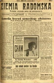 Ziemia Radomska, 1932, R. 5, nr 53