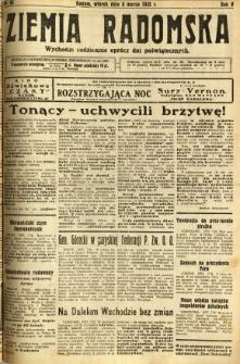 Ziemia Radomska, 1932, R. 5, nr 55