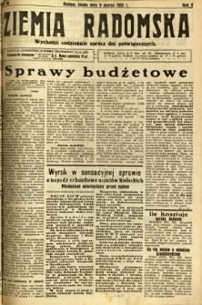 Ziemia Radomska, 1932, R. 5, nr 56