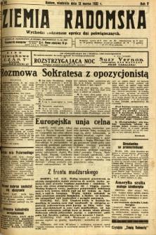 Ziemia Radomska, 1932, R. 5, nr 60