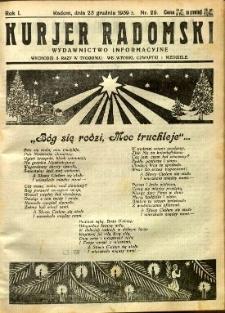 Kurier Radomski, 1939, R. 1, nr 29