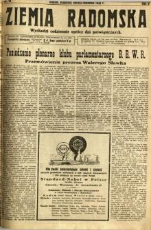 Ziemia Radomska, 1932, R. 5, nr 76