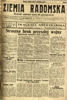 Ziemia Radomska, 1932, R. 5, nr 77