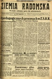 Ziemia Radomska, 1932, R. 5, nr 80